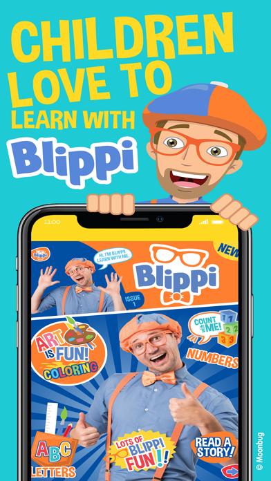 Screen Shot Blippi Official Magazine 0