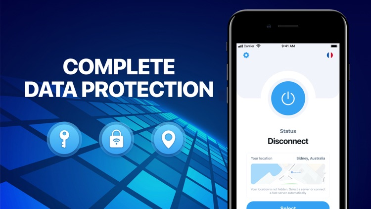 Maxtor: protected connection