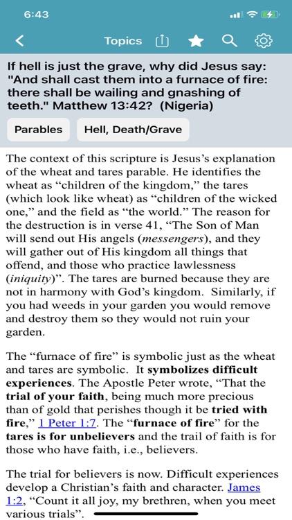 Bible Questions & Answers -FAQ screenshot-8