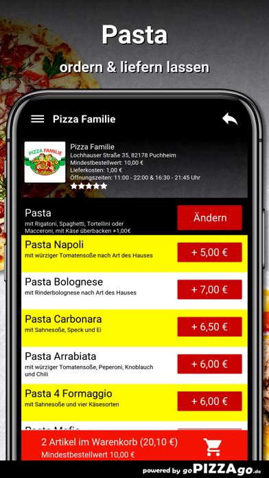Pizza Familie Puchheim screenshot 6