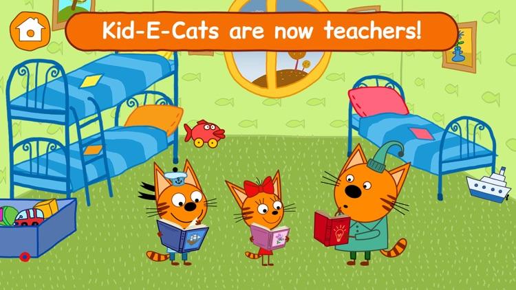Kid-E-Cats: Toddler Games ABC! screenshot-0