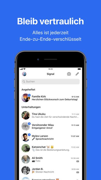 Herunterladen Signal – Sicherer Messenger für Pc