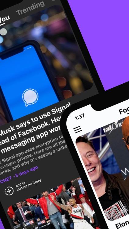 Newsbite: Personalized News
