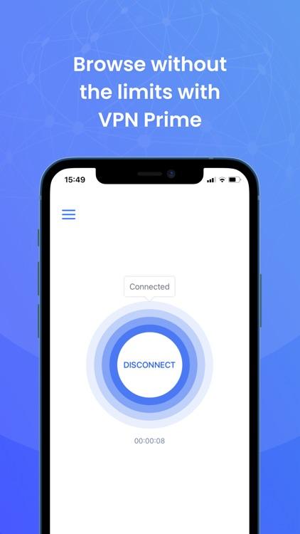 VPN Prime - Unlimited Proxy screenshot-3