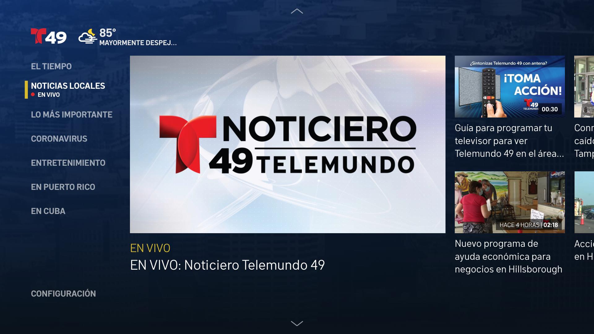 Telemundo 49 screenshot 14