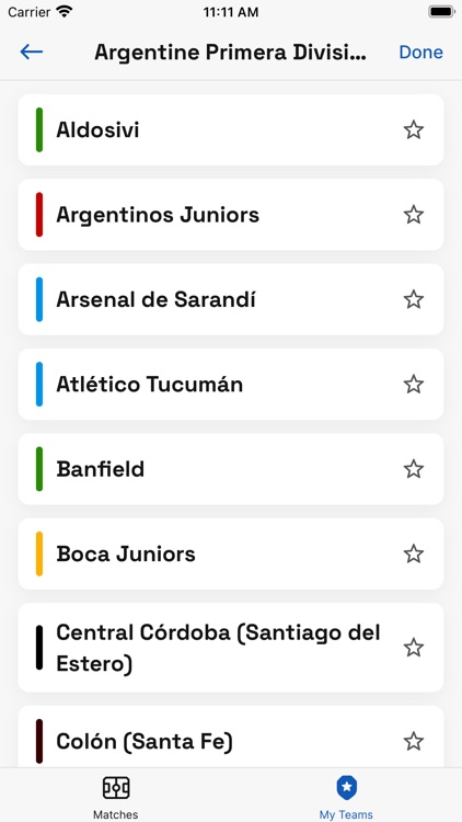 Soccer TV Schedules screenshot-5