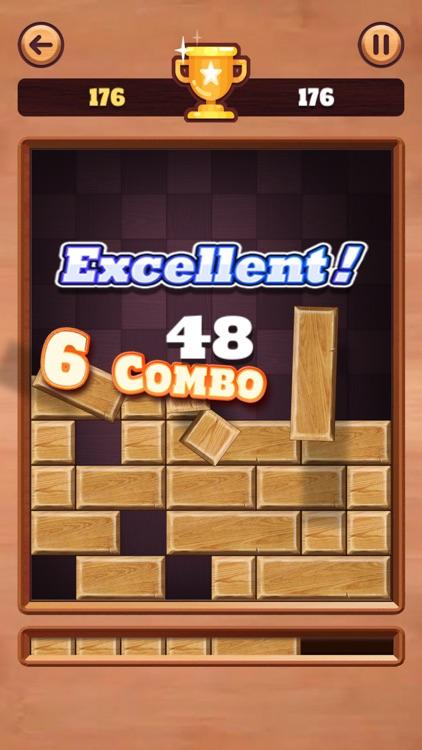 Wood Drop: Slide Block Puzzle