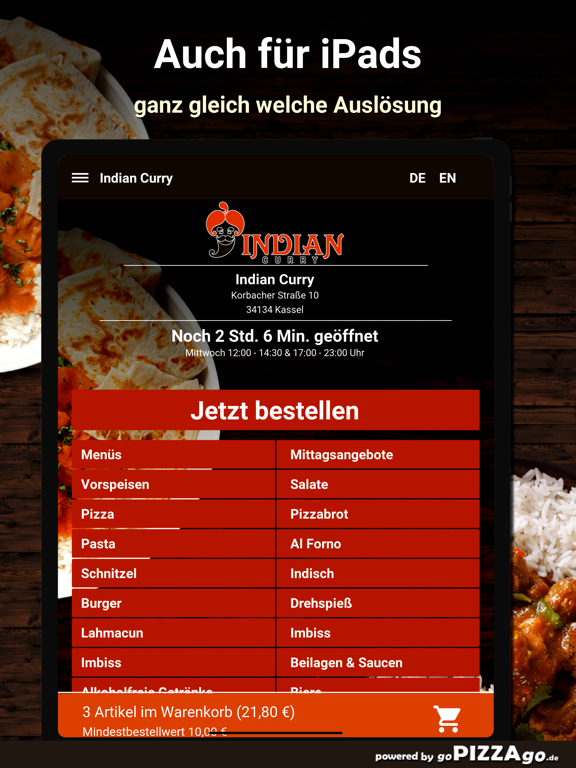 Indian Curry Kassel screenshot 7