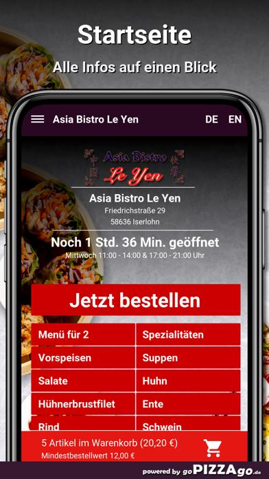 Asia Bistro Le Yen Iserlohn screenshot 2