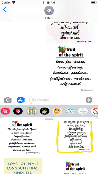fruit of the spirit stickers screenshot 10