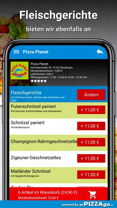 Pizza Planet Lieferservice screenshot 6