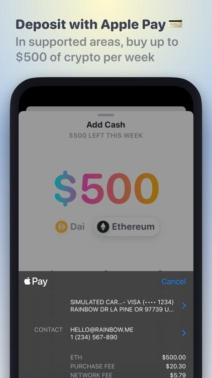 Rainbow - Ethereum Wallet screenshot-4