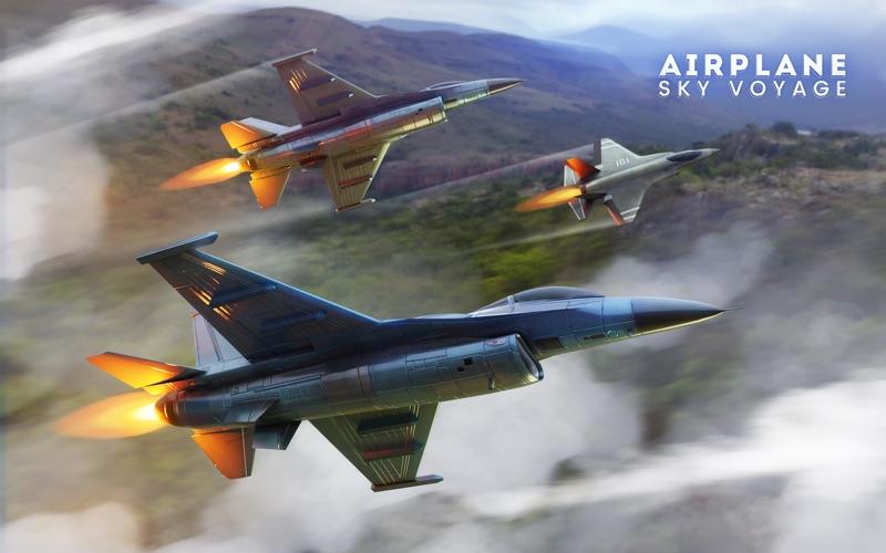 Airplane Sky Voyage скриншот программы 1