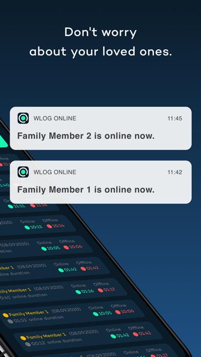 wLog OnlineScreenshot von 2