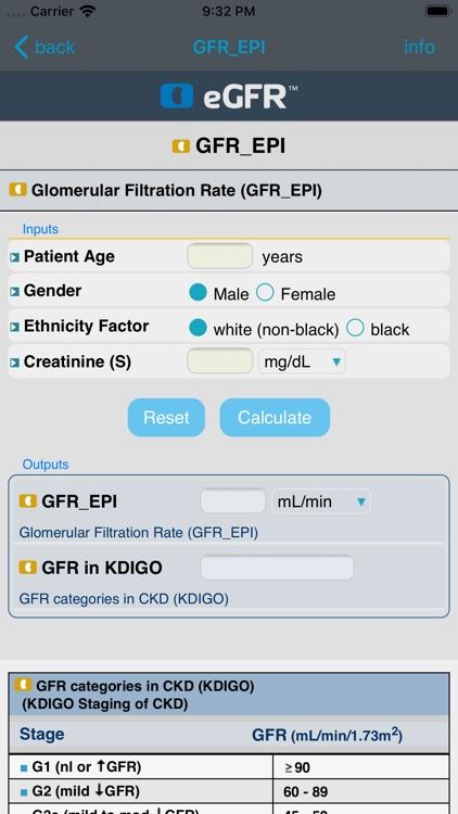 eGFR™ screenshot-5
