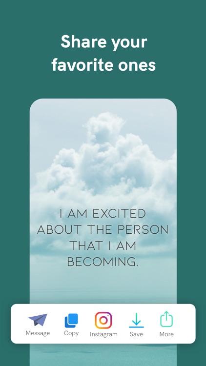 I am - Positive Affirmations screenshot-3