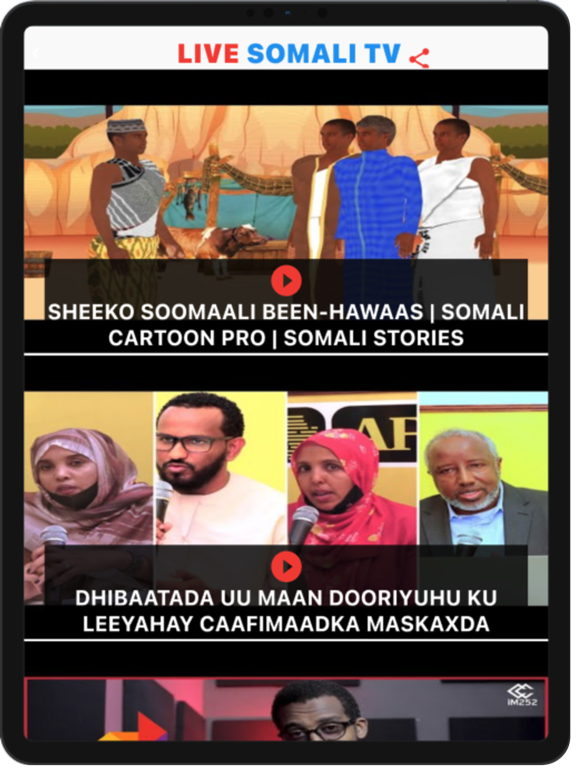 Live Somali TV Screenshots