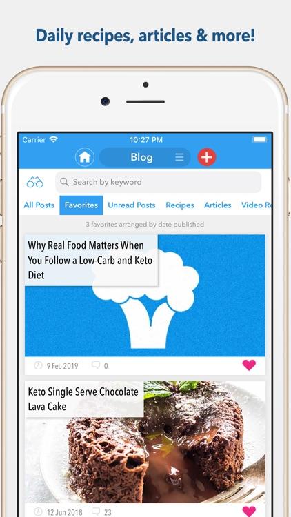 KetoDiet: The #1 Keto Diet App screenshot-5