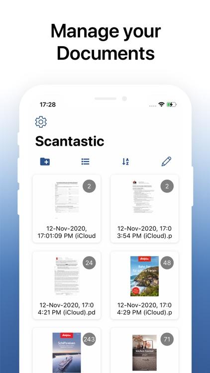 Scantastic - Scanner App screenshot-0