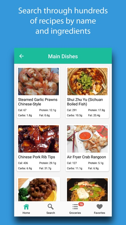 Chinese Recipes & Meals