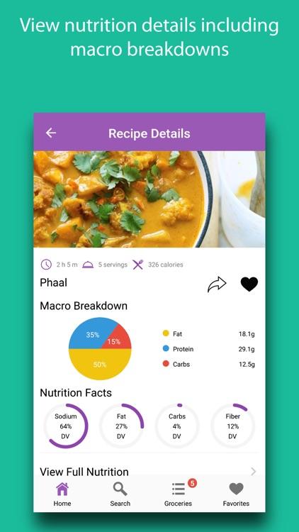 Indian Recipes & Ingredients screenshot-3