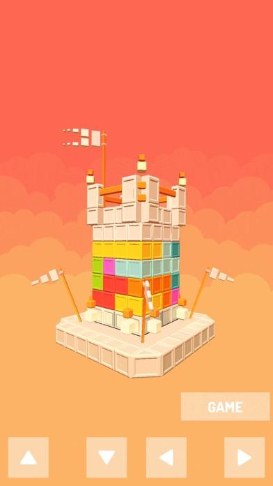 Castle Puzzle tower block screenshot 1