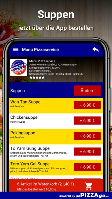 Manu Pizza Reutlingen screenshot 5