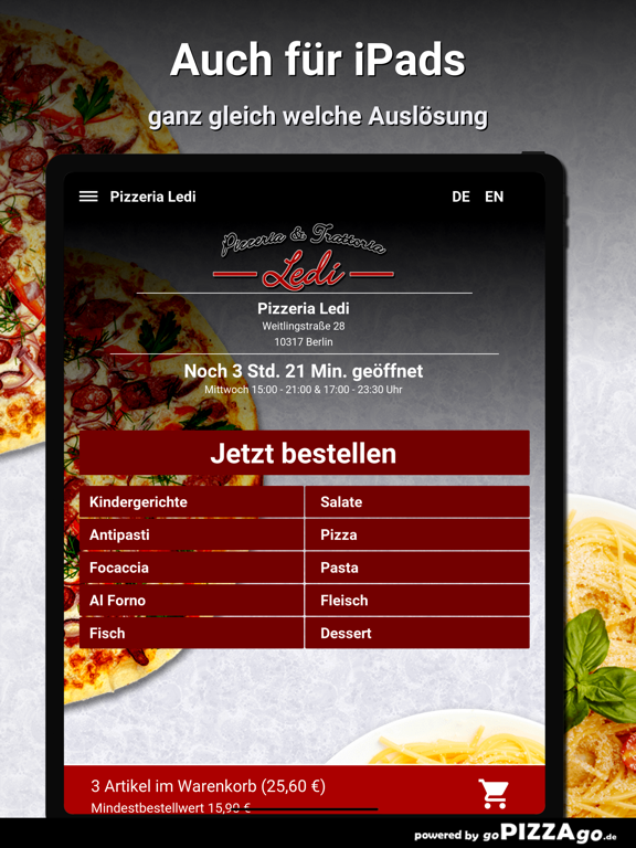 Pizzeria Ledi Berlin screenshot 7