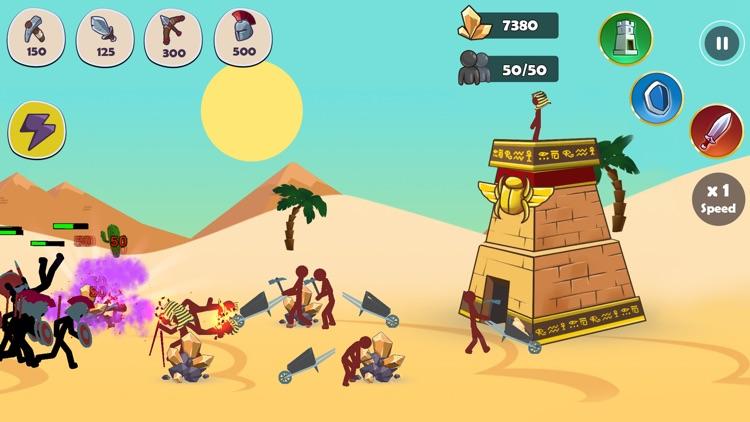 Stickman Clans screenshot-4