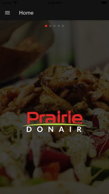 Prairie Donair App
