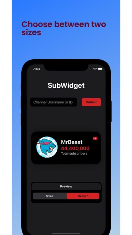 SubWidget screenshot-3