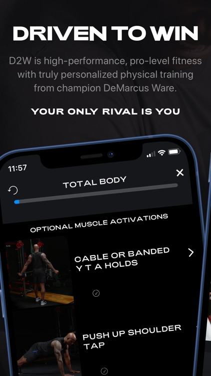 D2W Fitness by DeMarcus Ware screenshot-0