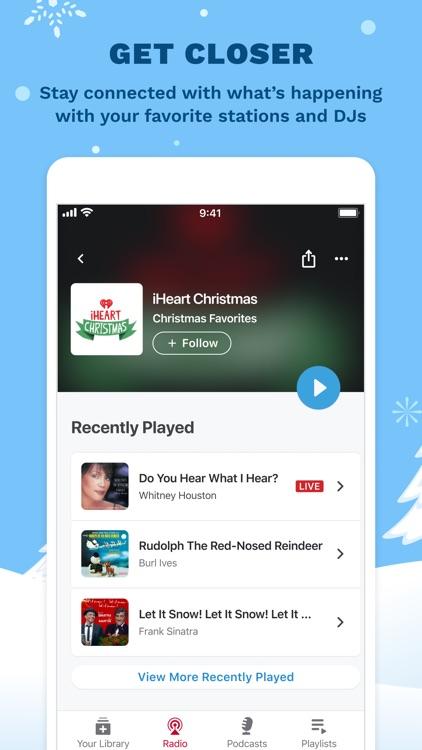 iHeart: Radio, Music, Podcasts screenshot-6