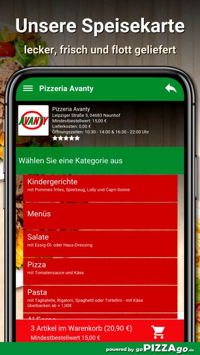 Pizzeria Avanty Naunhof screenshot 4