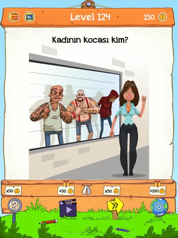 Braindom 2: Kim Kimdir Bulmaca ipad ekran görüntüleri