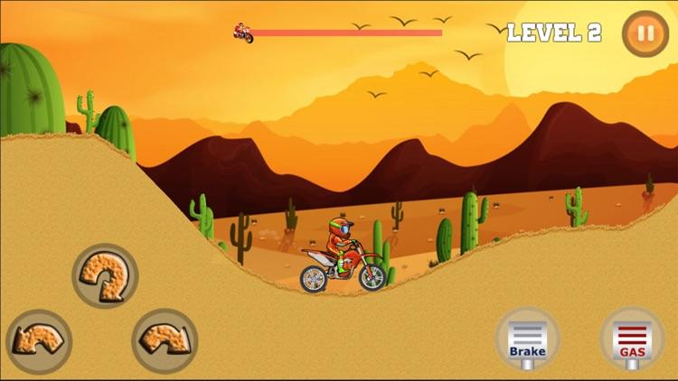 Moto XSM Hill Climb Racing