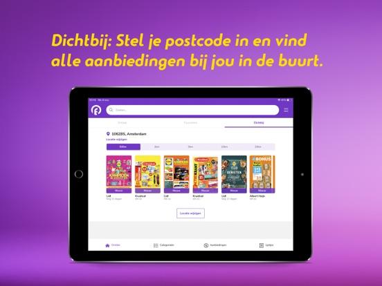 Reclamefolder iPad app afbeelding 7
