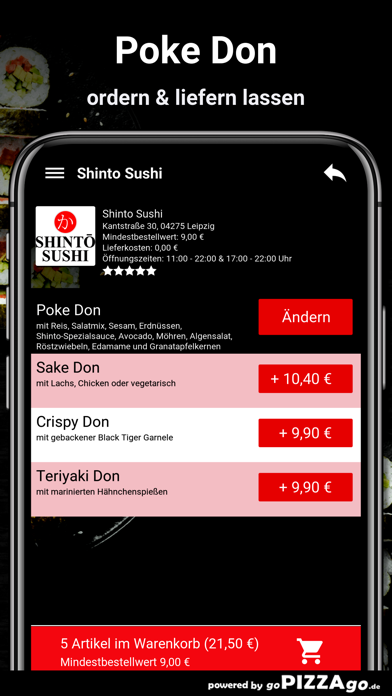 Shinto Sushi Leipzig screenshot 6
