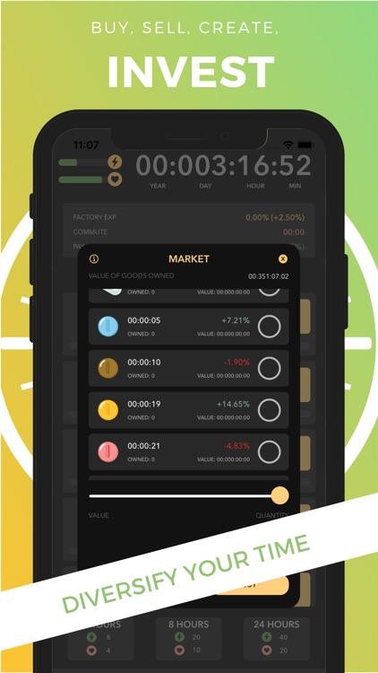 Life Simulator - Time is Money screenshot-4