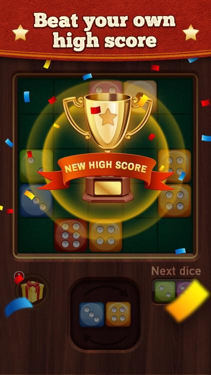 Woody Dice Merge Puzzle screenshot-4