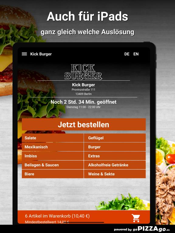Kick Burger Berlin screenshot 7