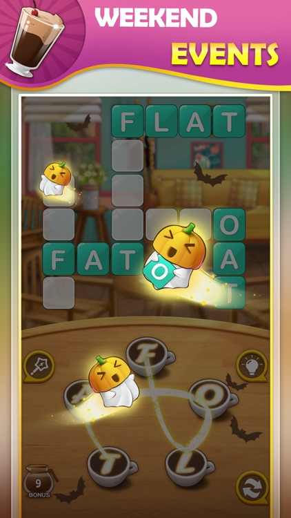 Brain training game:WordCoffee screenshot-3