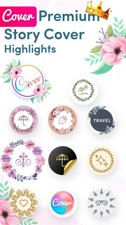 Cover Highlights + logo maker screenshot-0