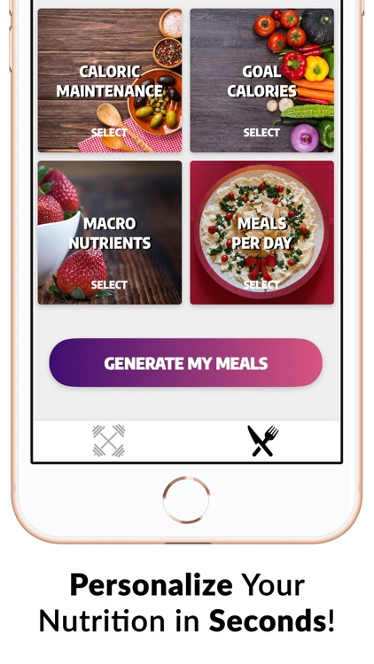 Exerprise Workout Meal Planner