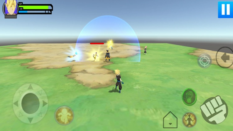 Stickman Warrior Z 3D screenshot-5