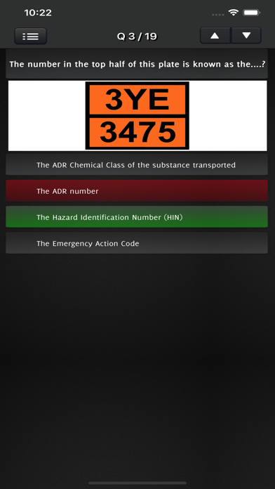 ADR QUIZ - Dangerous Goods screenshot 2