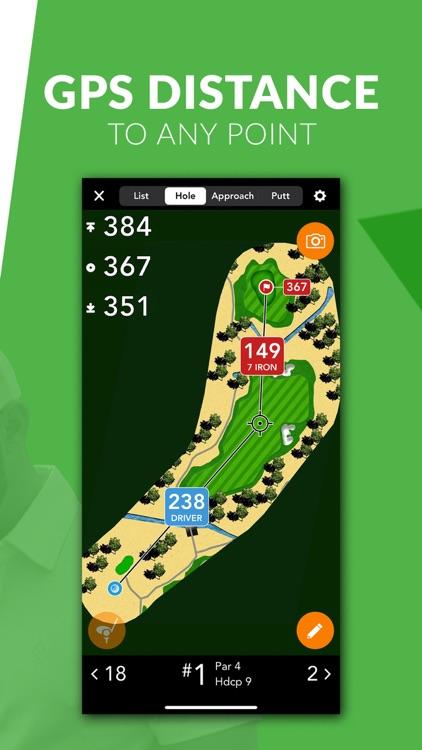 GolfLogix Golf GPS + Putt Line