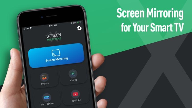 Screen Mirroring X: Smart View