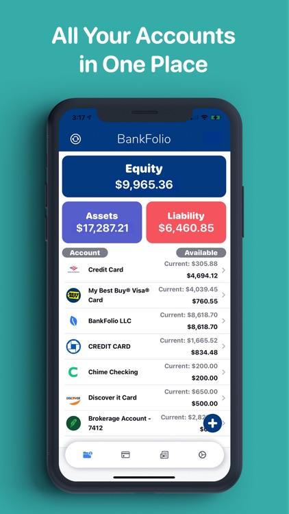 BankFolio - Budget & Expenses screenshot-0