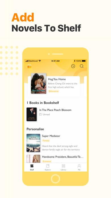 Beenovel Screenshot